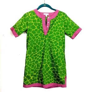 Lily Pulitzer | Giraffe Print Shift Dress